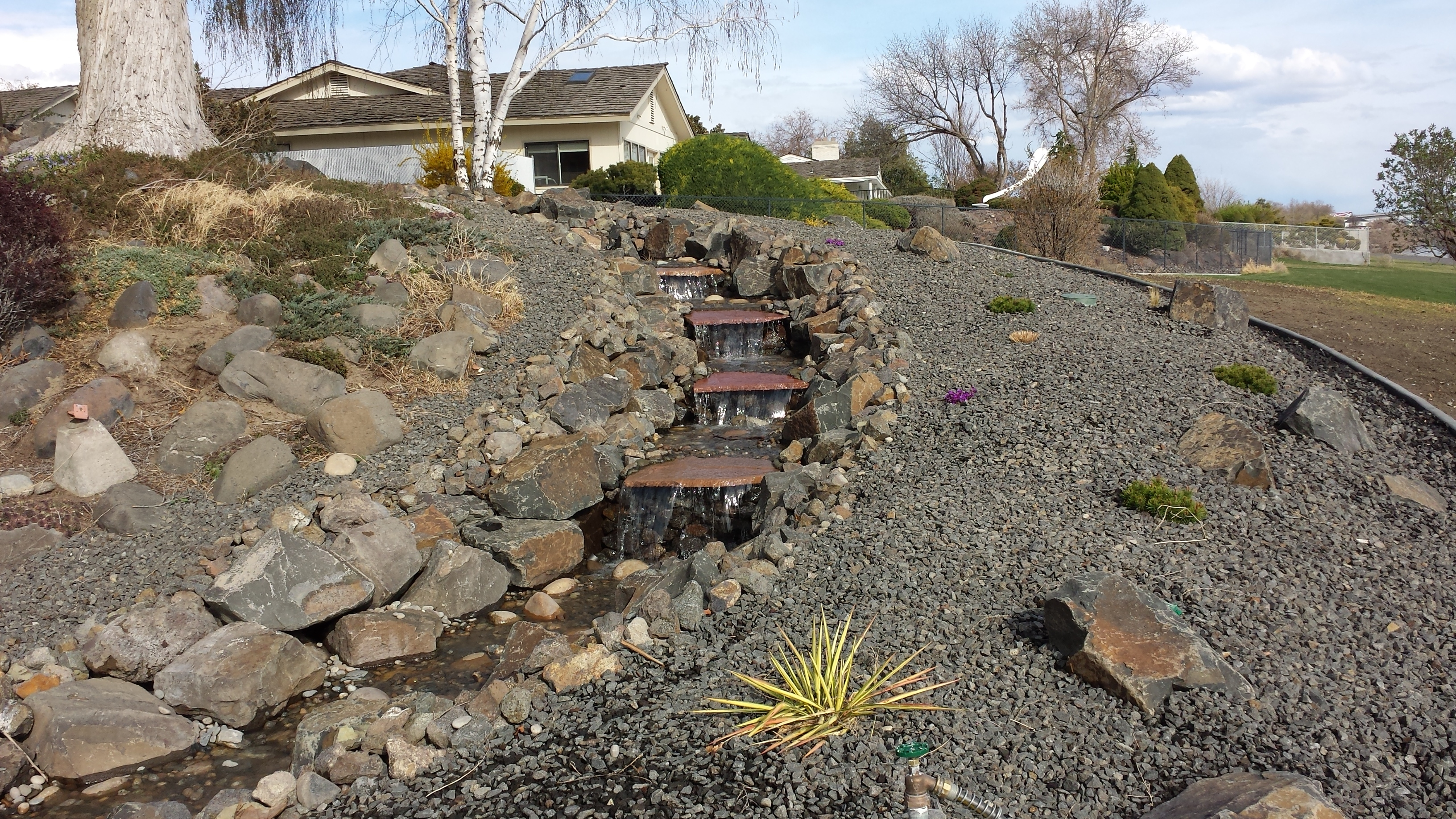 an overview of the art of creating ponds Description: the loose rock style of ornamental fish pond construction has  become very common in the united states this method of construction dictates: ( 1).